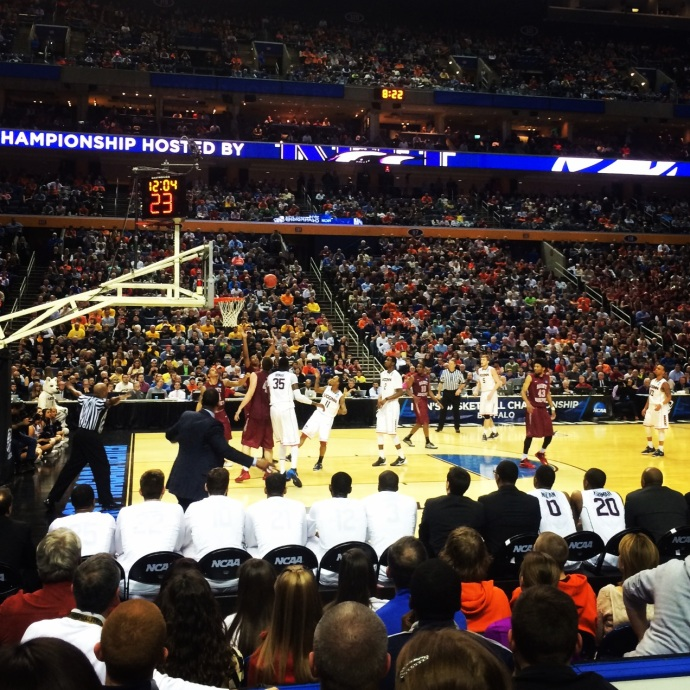 UCONN- St. Joe's East Regional Game at First Niagara Center in Buffalo, NY