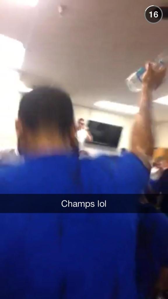Kings Celebrate Championship