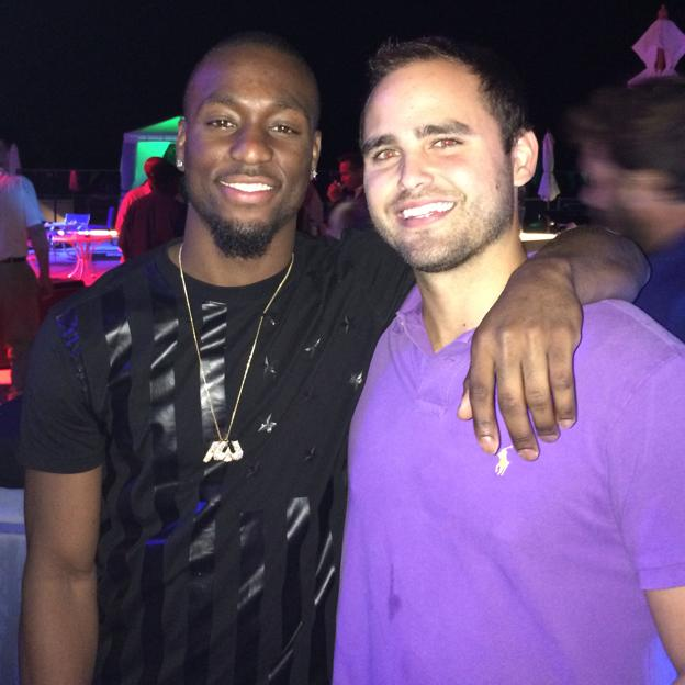 After party with Kemba Walker
