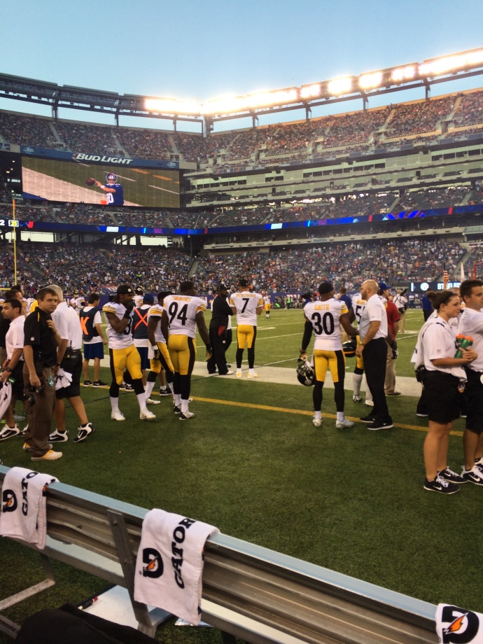 Mike Tomlin and Ben Roethlisberger talk strategy