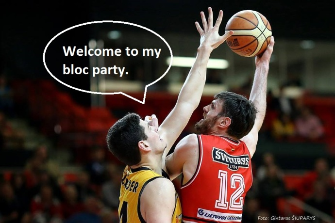 Welcome to my bloc party
